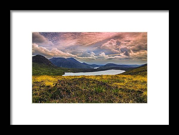 Climbing Framed Print featuring the photograph The Mourne Mountains by Jacek Tomczak
