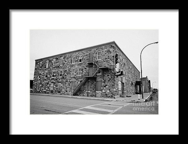 Weyburn Framed Print featuring the photograph the royal hotel weyburn Saskatchewan Canada by Joe Fox