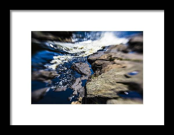 Stream Framed Print featuring the photograph The Stream In Mountain by Alex Potemkin