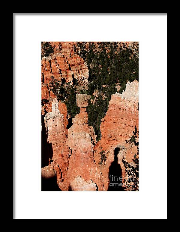 Thors Hammer Framed Print featuring the photograph Thors Shadow by Jemmy Archer