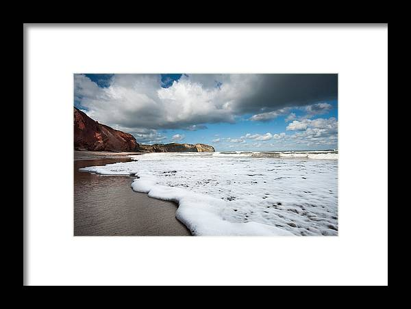 Tide.water.wave.sea Framed Print featuring the photograph Tide by PNDT Photo