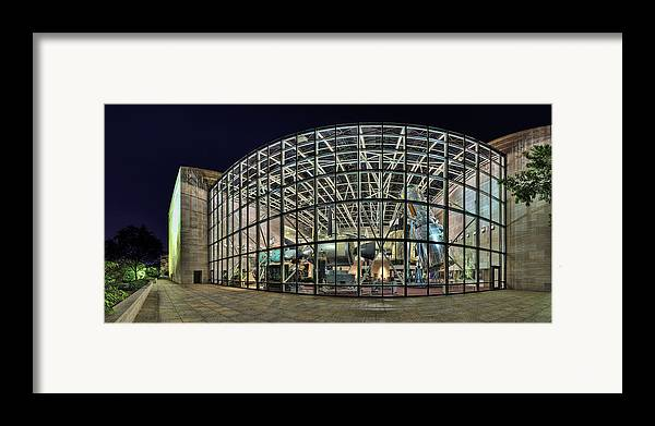 Metro Framed Print featuring the photograph To Infinity And Beyond by Metro DC Photography