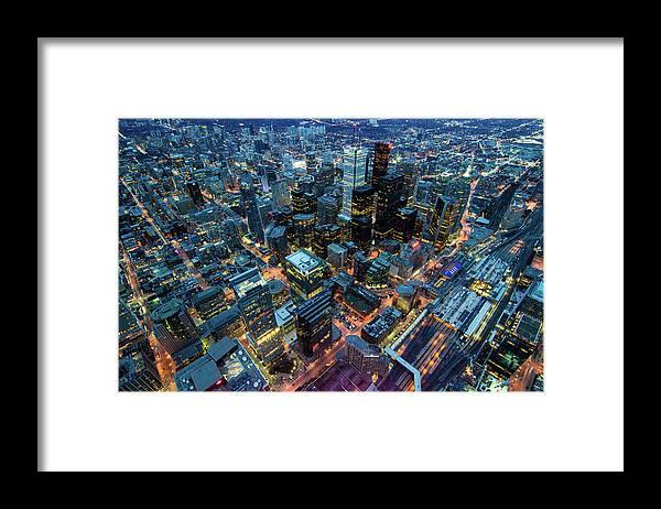 Toronto Framed Print featuring the photograph Toronto by Naeem Jaffer
