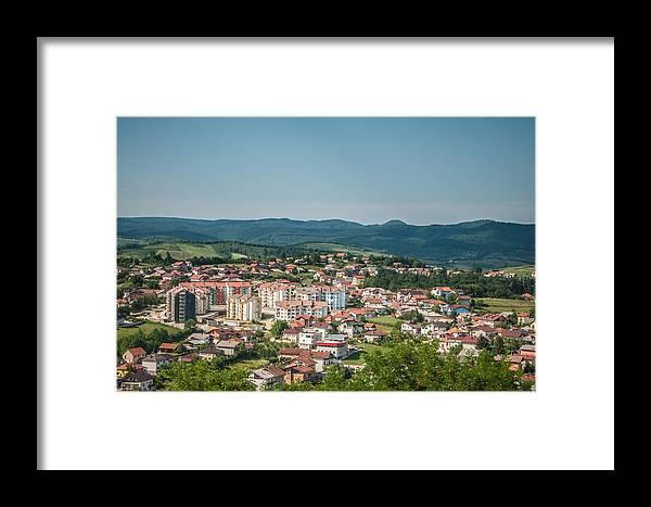 Velika Kladusa Framed Print featuring the photograph Velika Kladusa Bosnia by Amel Dizdarevic