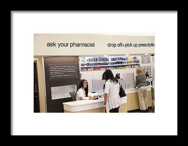 Walgreens Announces Plans To Shift Employee's Healthcare To Private  Insurance Marketplaces Framed Print