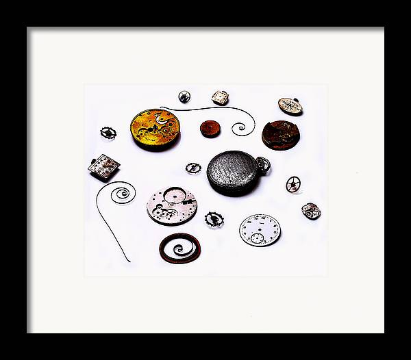 Watch Framed Print featuring the photograph Watch Me by Camille Lopez