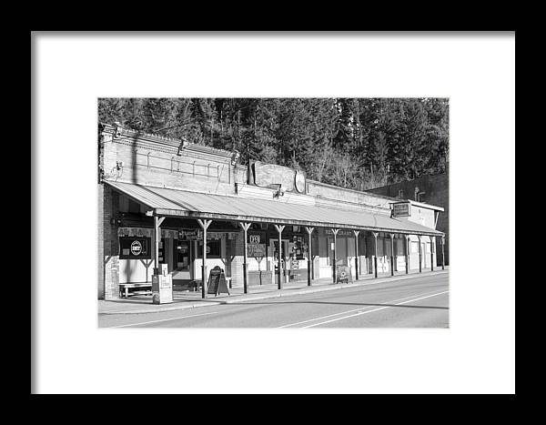 Wilkeson Mall Framed Print featuring the photograph Wilkeson Mall by Michael DeMello
