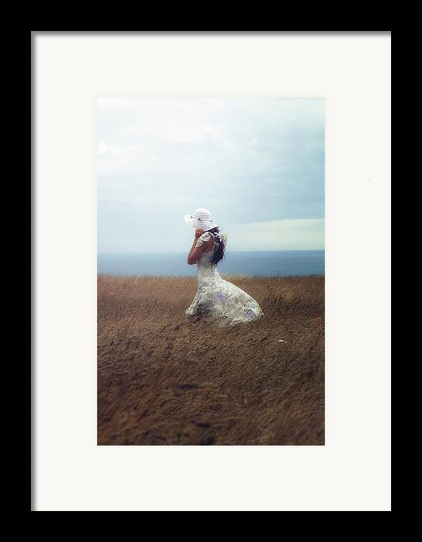 Girl Framed Print featuring the photograph Windy Day by Joana Kruse
