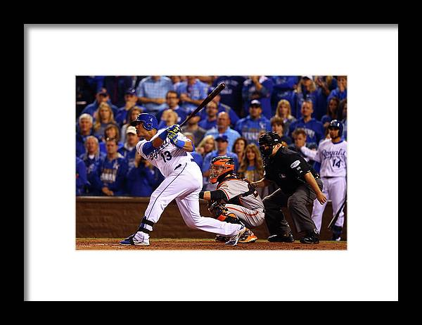 Game Two Framed Print featuring the photograph World Series - San Francisco Giants V by Dilip Vishwanat