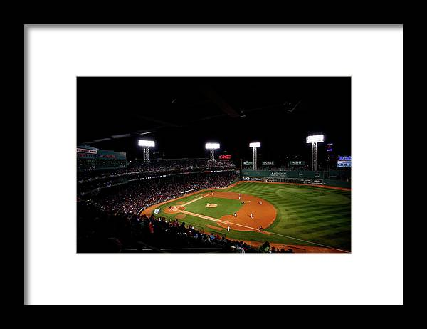 American League Baseball Framed Print featuring the photograph World Series - St Louis Cardinals V by Jared Wickerham