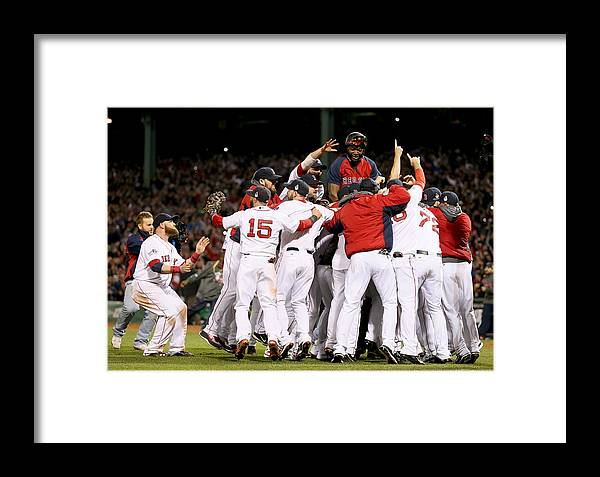 Playoffs Framed Print featuring the photograph World Series - St Louis Cardinals V by Rob Carr