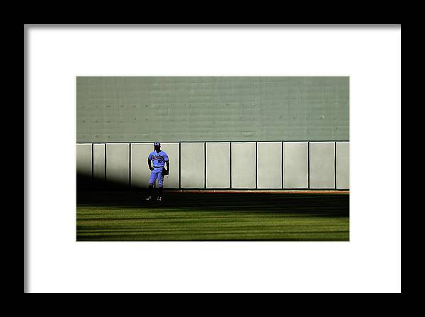 Ninth Inning Framed Print featuring the photograph Boston Red Sox V Baltimore Orioles 10 by Rob Carr