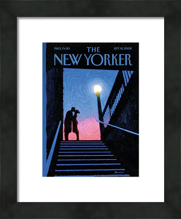 New Yorker Moment by Eric Drooker
