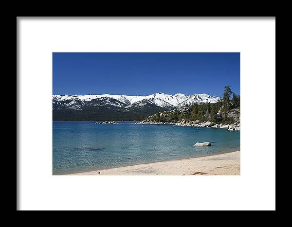 Tahoe Framed Print featuring the photograph Lake Tahoe Photography Art by Jessica Johnson