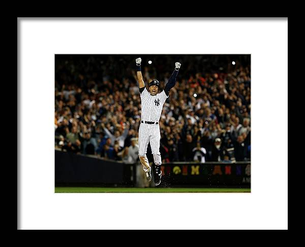 Ninth Inning Framed Print featuring the photograph Baltimore Orioles V New York Yankees by Elsa