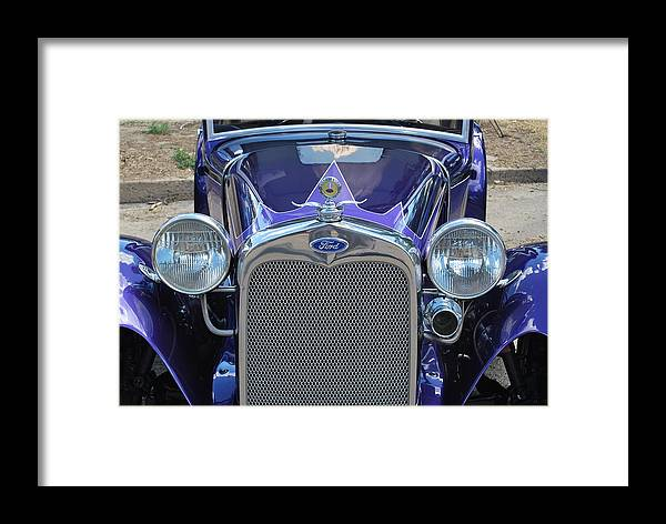 Classic Framed Print featuring the photograph Classic Car. by Oscar Williams