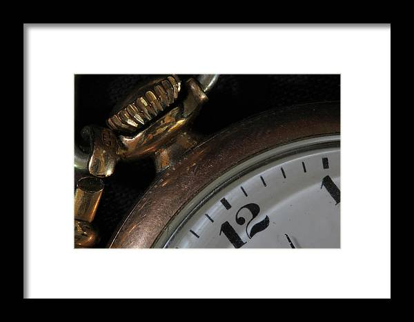 Watch Framed Print featuring the photograph 12 by Mary Bedy