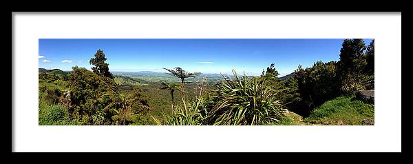 Bush Framed Print featuring the photograph New Zealand by Les Cunliffe