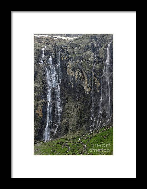 Cirque De Gavarnie Framed Print featuring the photograph 120520p197 by Arterra Picture Library