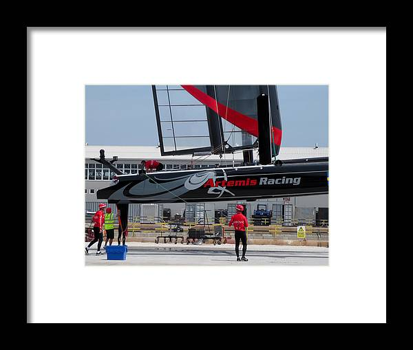Artemis Framed Print featuring the photograph Acws In Venice by Lorenzo Tonello