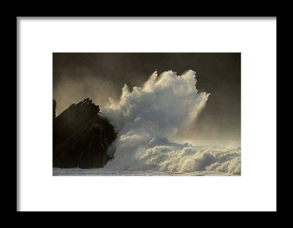Power Framed Print featuring the photograph Power by Barbara Walsh
