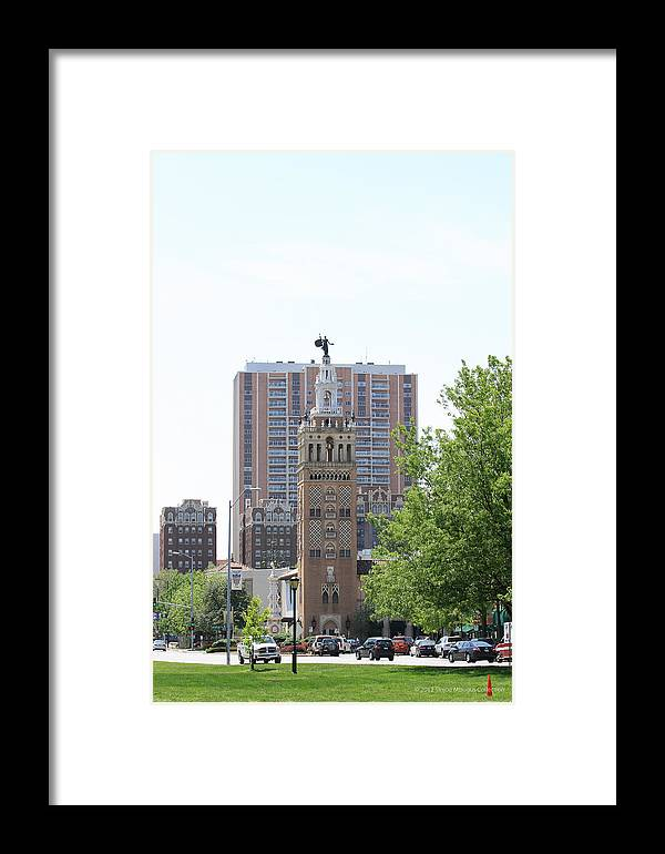 Kansas City Photos Framed Print featuring the photograph Places by Tinjoe Mbugus