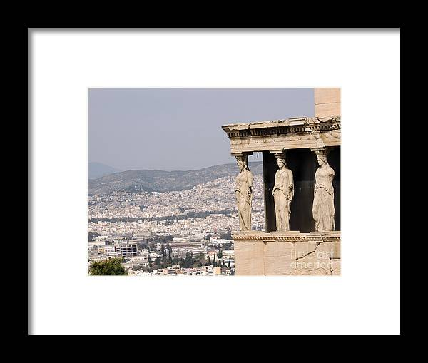 Framed Print featuring the photograph Acropolis by Paul Sandilands