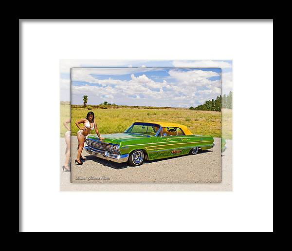Lowrider Framed Print featuring the photograph Lowrider by Walter Herrit