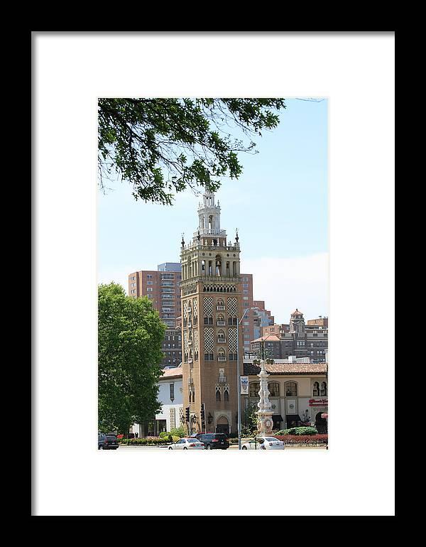 Kansas City Photos Framed Print featuring the photograph Places by Tinjoe Mbugus