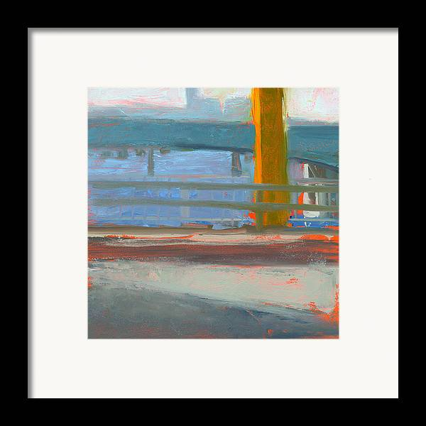 Bridge Framed Print featuring the painting Rcnpaintings.com by Chris N Rohrbach