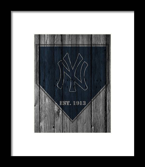 Yankees Framed Print featuring the photograph New York Yankees by Joe Hamilton