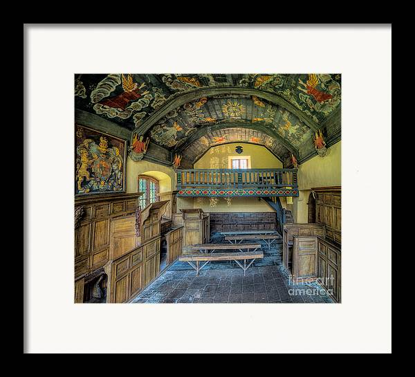Chapel Framed Print featuring the photograph 17th Century Chapel by Adrian Evans