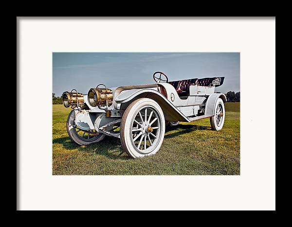 Transportation Framed Print featuring the photograph 1910 Franklin Type H Touring by Marcia Colelli