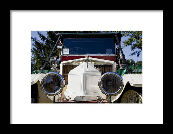 1912 Framed Print featuring the photograph 1912 Siddeley-deasy Type 14-20 by Jack R Perry