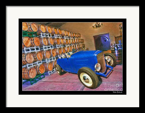 1927 Ford Roadster Framed Print featuring the photograph 1927 Ford Roadster by Blake Richards