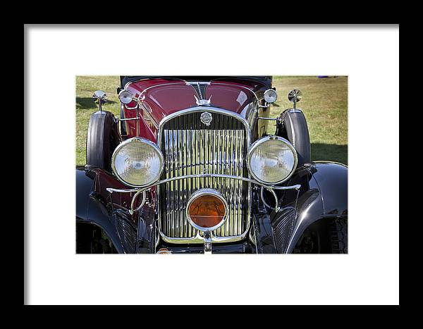 1930 Framed Print featuring the photograph 1930 Chrysler Model 77 by Jack R Perry
