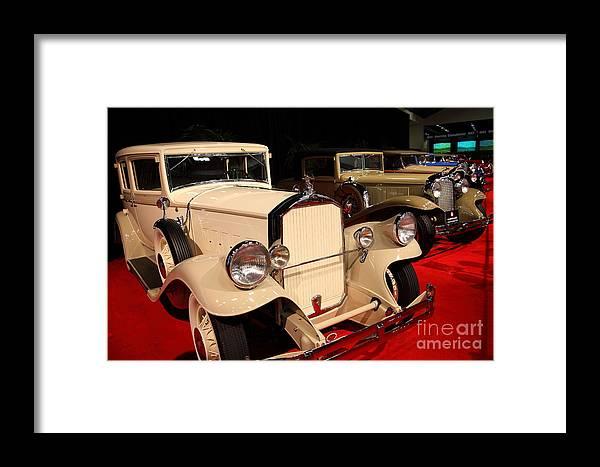Transportation Framed Print featuring the photograph 1931 Pierce Arrow Model 43 Club Sedan 5d26822 by Wingsdomain Art and Photography