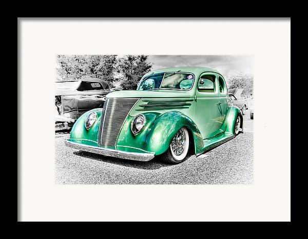 Ford Coupe Framed Print featuring the photograph 1937 Ford Coupe by Phil 'motography' Clark