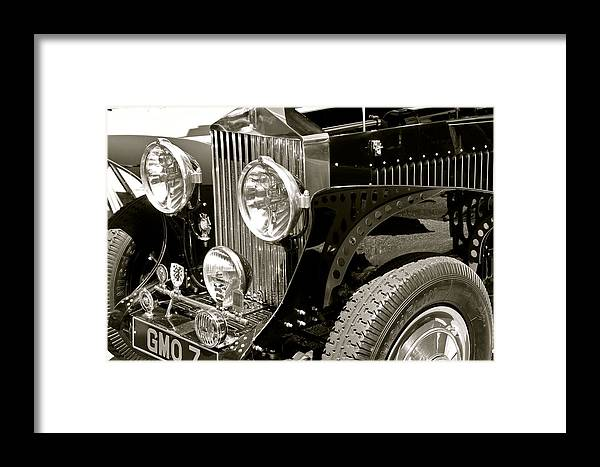 Classic Car Framed Print featuring the photograph 1937 Rolls-royce Boat Tail Speedster by Deana Rae