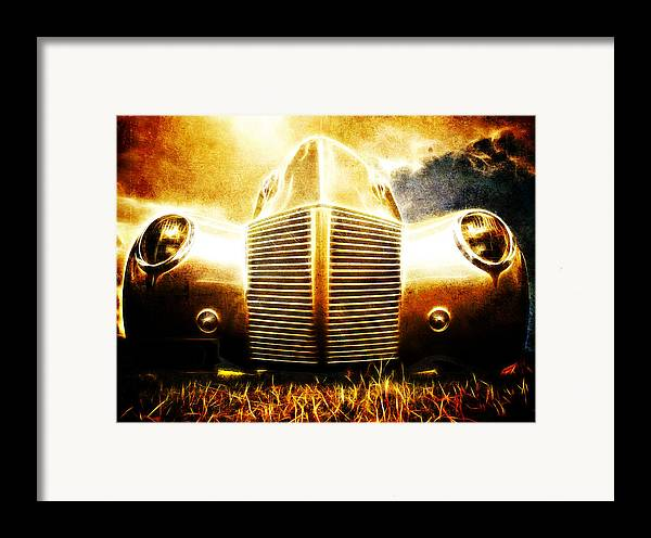 Custom Ford Framed Print featuring the photograph 1939 Ford Roadster by Phil 'motography' Clark