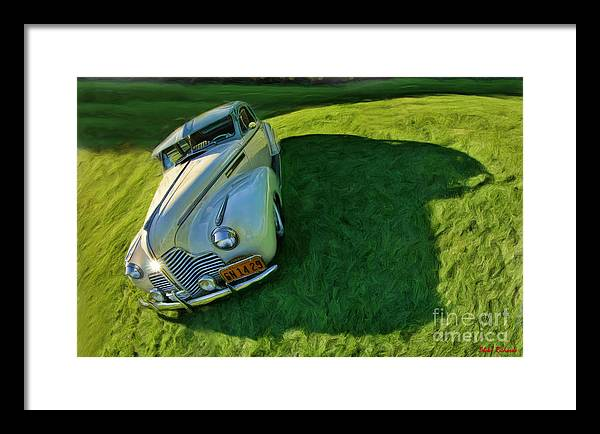 Buick Framed Print featuring the photograph 1940 Buick by Blake Richards