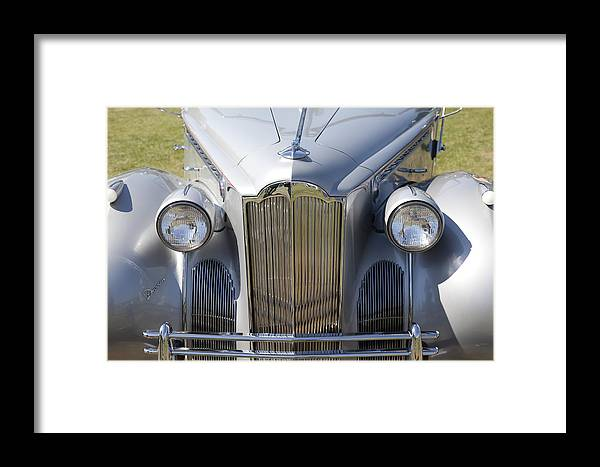 1940 Framed Print featuring the photograph 1940 Packard One-sixty by Jack R Perry