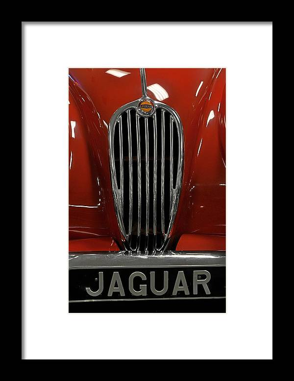 Cars Framed Print featuring the photograph 1957 Jaguar XK 140 MC by Keith Gondron