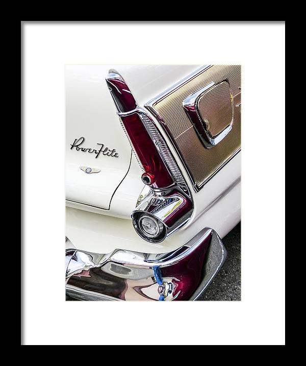 1956 Plymouth Fury Framed Print featuring the photograph 1956 Plymouth Fury by Robert Grant