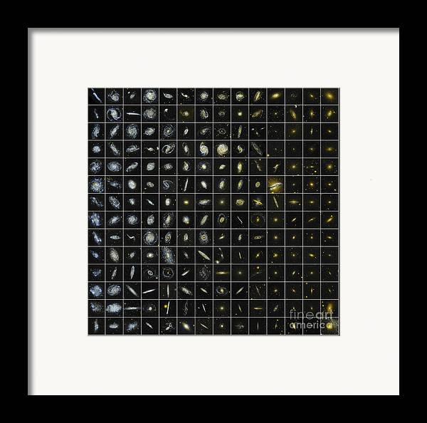 Ultraviolet Framed Print featuring the photograph 196 Galaxies by Science Source