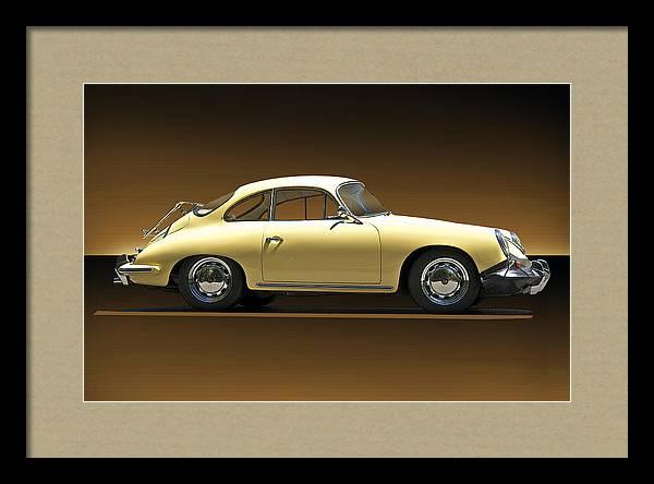 1960 Porsche 356C Coupe II by Dave Koontz