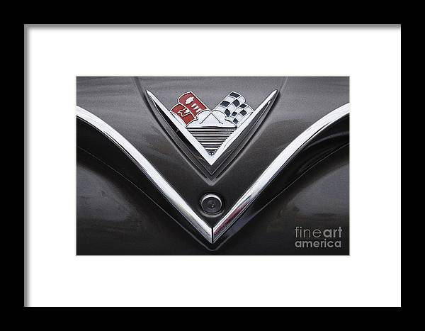 1961 Chevrolet Framed Print featuring the photograph 1961 Chevrolet by Dennis Hedberg