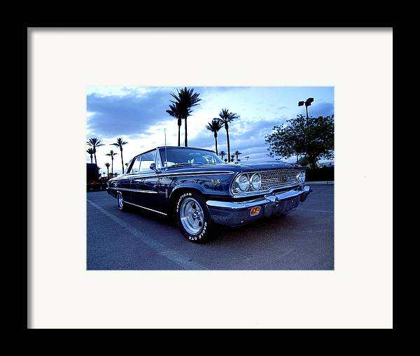 1963 Framed Print featuring the photograph 1963 Ford Galaxie by Paul Swanson