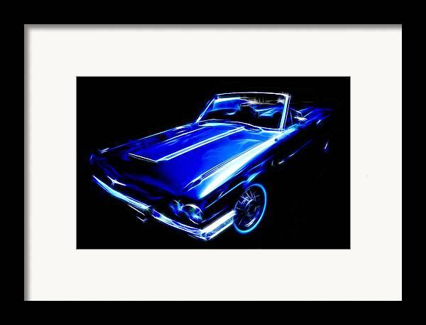 Ford Thunderbird Framed Print featuring the photograph 1964 Thunderbird by Phil 'motography' Clark