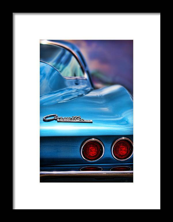 1965 Framed Print featuring the photograph 1965 Chevrolet Corvette Stingray by Gordon Dean II